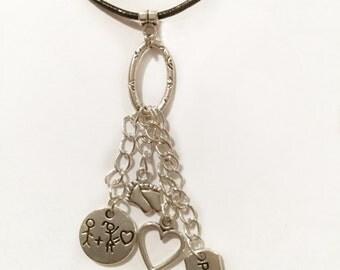 Baby & Pregnancy Protection Pendant Necklace or Handbag Charm