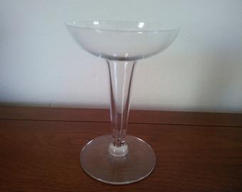 Vintage Single Hollow Stem Champagne Glass - Hollow Stemmed Champagne Glass - Champagne Glass