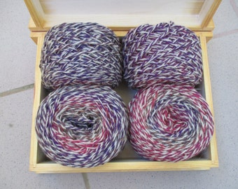 540 g 100% Wool  mix yarn for hand  knitting
