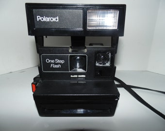 Vintage Polaroid One Step Flash Instant 600 Film Land Camera Tested  Works