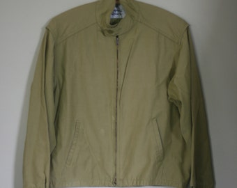 vintage acid green jacket by imperial guard