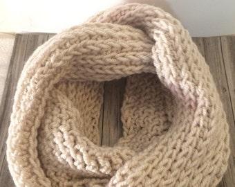 Crochet Infinity Scarf, Infinity Scarf, Scarf, Knit Scarf, Winter Scarf
