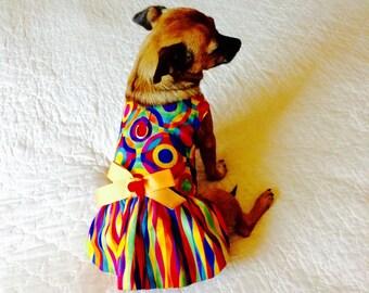 Dog Dress, Small Dog Dress, Custom to Fit, Dog Clothes, Dog Cothing, Shih Tzu Dress, Yorkie Dress, Chihuahua Dress