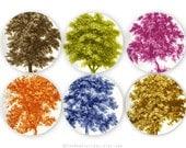 Exquisite tree melamine plate