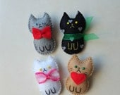 cute fridge buddies fridge magnet cute kawaii little cats