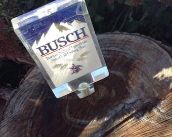Vintage Busch Beer keg tapper free shipping