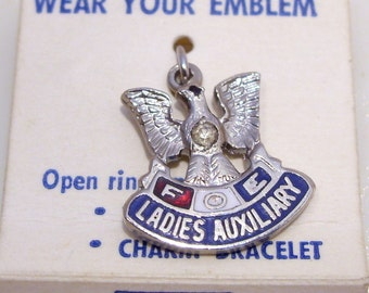 Fraternal Order of Eagles Ladies Auxiliary Charm