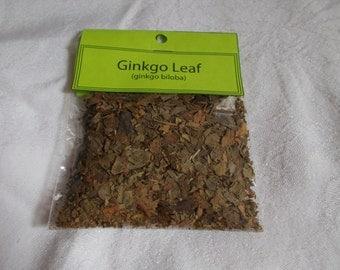 ORGANIC Herbs-Ginko Leaf