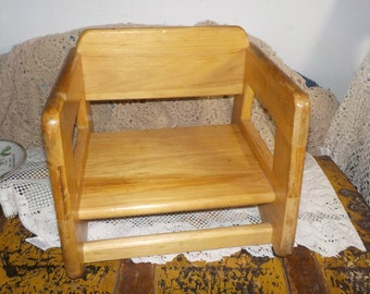 Vintage Child S Rocking Chair Cricket Style With A
