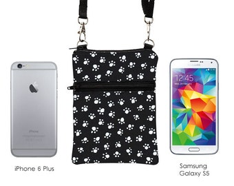 Phone Crossbody Sling Bag Travel Cell Phone Purse Fits