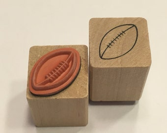 small / tiny football stamp, 20 mm (A11/1)