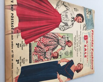 1954 Vintage FLORIDA FASHIONS Mail Order Catalog 8th Anniversary Edition