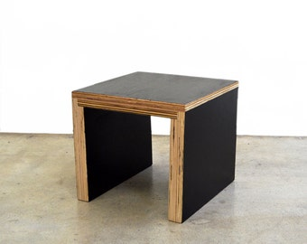 Plywood Square Coffee Table