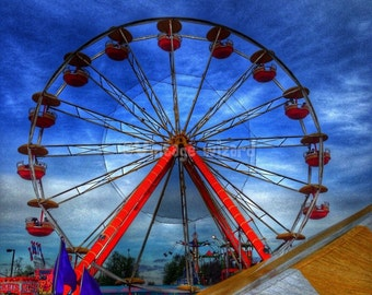 Mixed media,Art,Digital art, Digital, Digital download,Carnival,Ferris-wheel,Hd,High definition