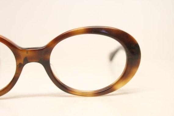 Vintage Eyeglass Frames Etsy : Vintage Eyeglass Frames Tortoise Retro Eyeglasses 1970s