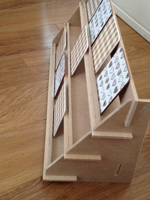 Display stand 3 shelf version flat pack ideal for craft for How to display wood signs at craft show