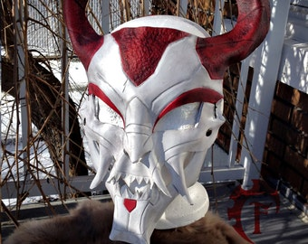 Blood Moon Tresh Leather mask,leagueoflegends,league of legends,lol,cosplay,support,costume,larp,fantasy,league,masquerade,cuir