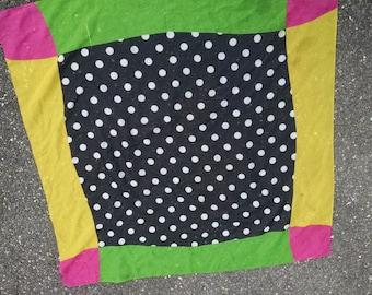 Bright Square  Fashion Scarf