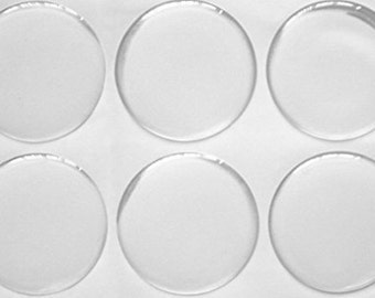 Circle Epoxy Stickers - Dia. Between [6mm-76mm] - Round Epoxy Domes, Dots, Seals