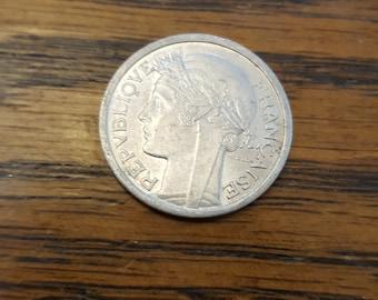 1959 France Franc UNC   *OCT16