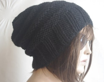 gift for women  Women  Hat , BLACK Cloche Hat , Winter Hat , Gift for her Hat Winter Accessories Women Fashion Accessories