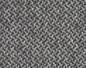 Black Grey Tweed Upholstery Fabric - Modern Woven Dark Grey Pillow Covers - Tweed Home Furnishing Fabric - Black Textured Fabric Headboard