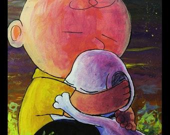 Hug it out, Charlie Brown