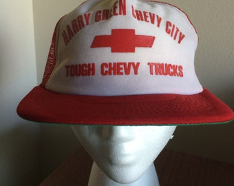 Vintage Tough Chevy Trucks Meshback Trucker Hat