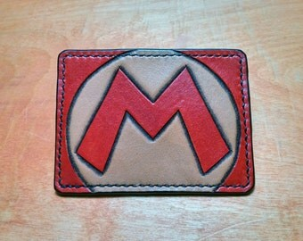 Mario Leather Card Wallet