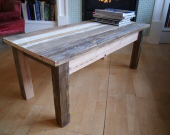 coffee table, pallet furniture, pallet coffee table, reclaimed wood coffee table