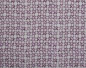 Peter Dunham Pillow - Orcha Pasha Pillow Cover - Purple Natural Geometric Linen - Designer Purple Pillow Cover - Motif Pillows