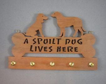 Whimsical Dog Key Holder
