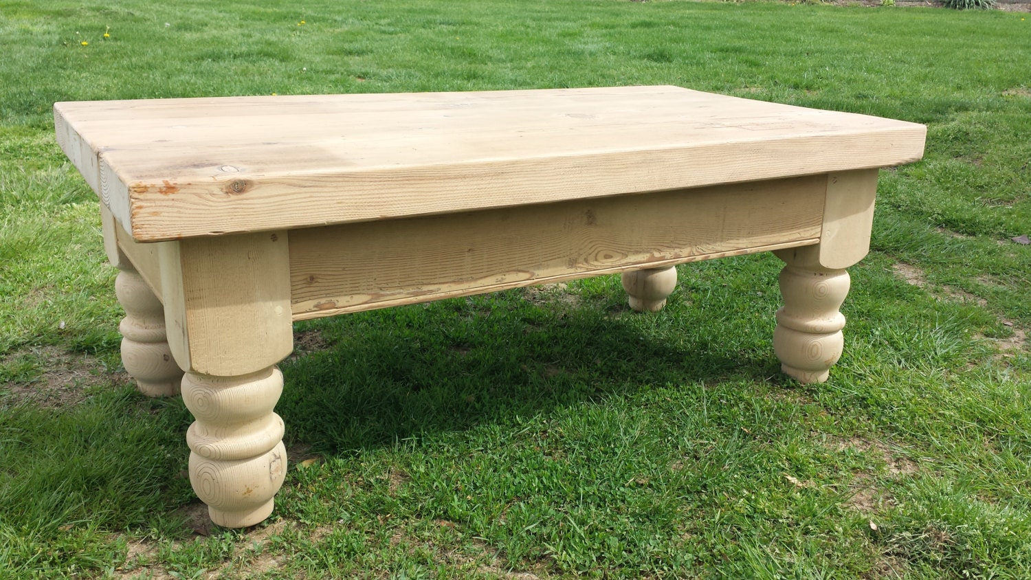 Reclaimed Pine Barnwood Coffee Table Ship Free To Limited