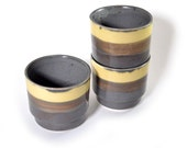 Yellow and Grey Stacking Cups