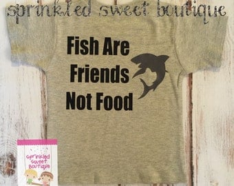 Movie Inspired Finding Nemo Fish Are Friends Not Food Custom Women Men Kid Child Matching Family Perfect for Disney Vacation Trip Shirts
