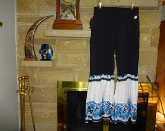 Upcycled  Women's Funky Lounge pants size Medium