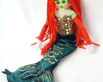 Little Mermaid costume for Christmas Elf