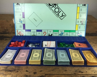 Vintage Monopoly Board Game / Extra Pieces