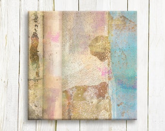 Abstract art printed on canvas - housewarming gift idea