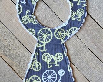 Closeout Bicycle Necktie Bib