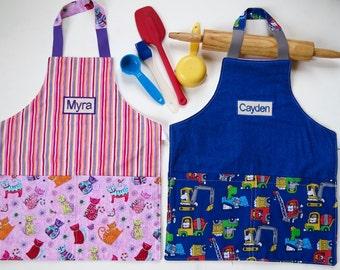 Personalize kid apron