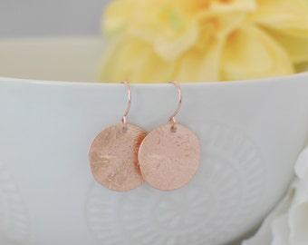 The Darlene Earrings - Rose Gold