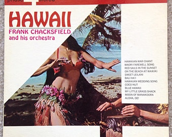 Hawaii Vintage Vinyl Record with Frank Chacksfield and his Orchestra