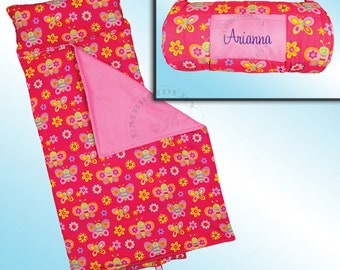 Butterfly Nap Mat - All Over Printed - Personalized and Embroidered