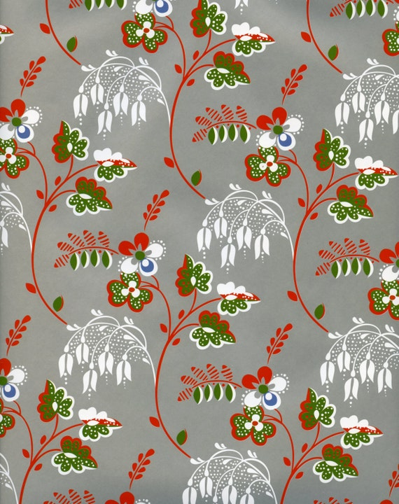 Floral decorative paper gift wrap wrapping