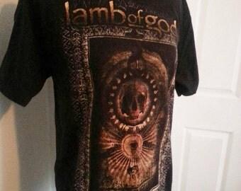 Lamb of God metal band shirt unisex size medium FLASH SALE !