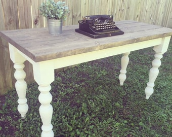 Farmhouse Desk - Office furniture - Rustic desk