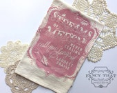Come Thou Fount / Streams of Mercy. Hymn Natural Cotton Flour Sack Tea Towel. Hymn Art. Hostess Housewarming gift. Gift for her.Kitchen gift