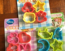 Fancy Japanese Disney Bento Cutting Mold (Pick 1): Mickey Mouse, Minnie Mouse, Or Alien