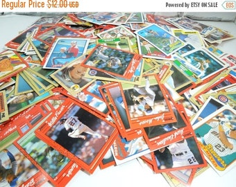 On Sale Price Vintage Baseball Cards. Set of 500. Sports Fans. America's Pastime. Gifts for Manly Men. Sports Collectibles. Man Cave. Media